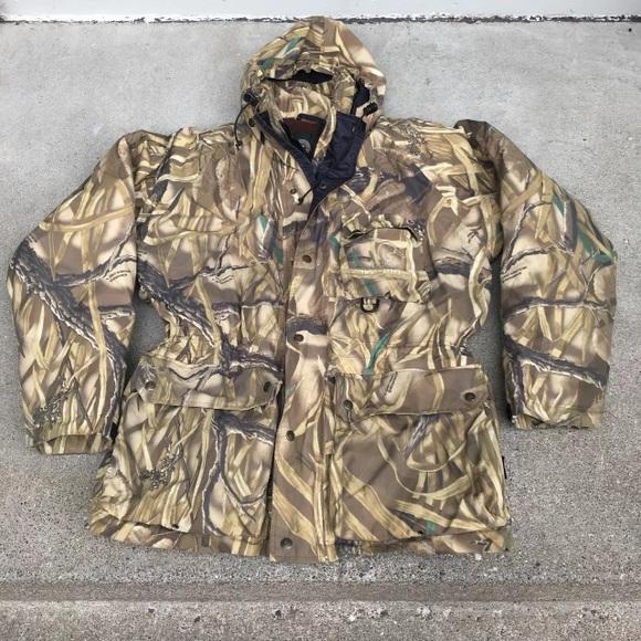 53d5a38bb97d2 Ducks Unlimited Jackets & Coats | Camo Gtx Jacket Parka M | Poshmark